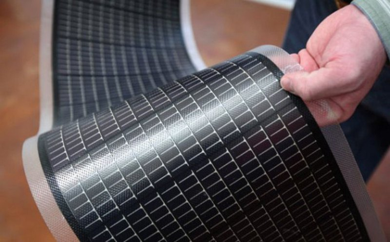 Солнечные батареи в рулонах
