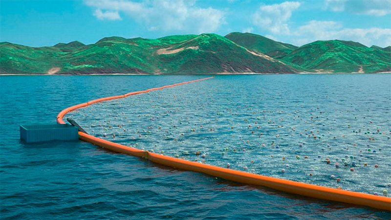 Ocean Cleanup – проект очистки воды от мусора