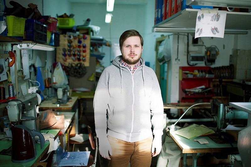 Владимир Григорьев и производство обуви