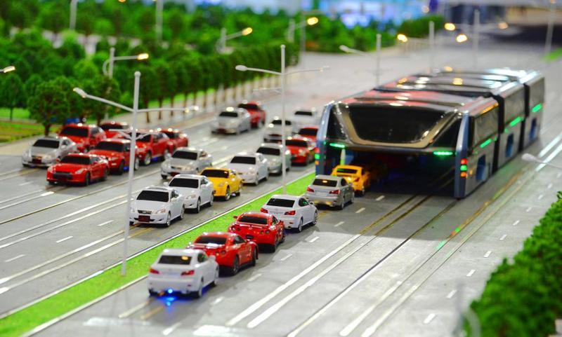 Китай борется против пробок на дорогах